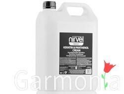 Nirvel keratin  panthenol cream / Кондиционер питательный с кератином и пантенолом для сухих, ломких и поврежденных волос. Объем: 1000мл