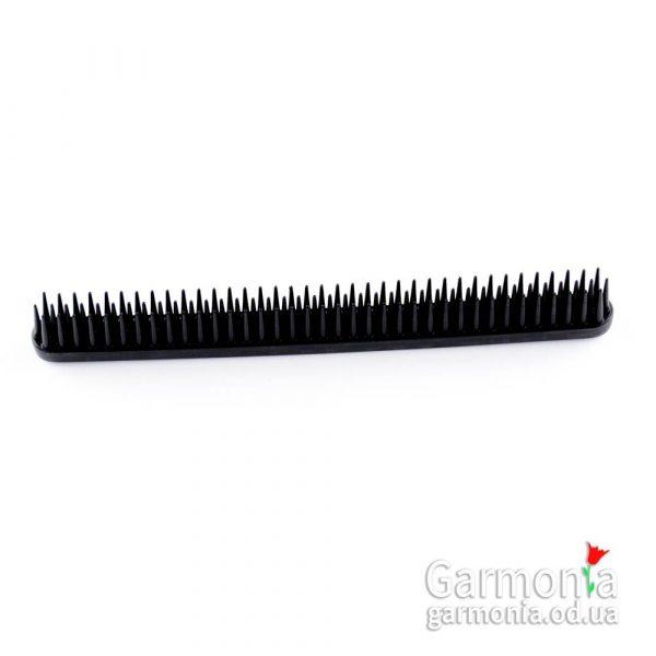 Denman D12 Black three row comb.Черный гребень три ряда