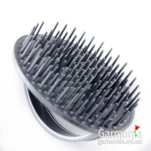 "Denman D6 Silver - be-bop massage brush.Щетка для шампунирования ""серебряная""."