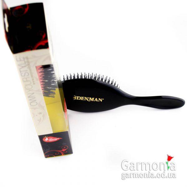 Denman D80L - Large nylon bristle grooming brush. Большая щетка с нейлоновой щетиной.