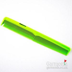 Denman DPC3GRN - Lime green precision small cutting comb. Гребень для точного распределиня прядей волос,зеленый.