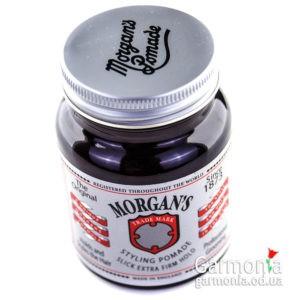 Morgans styling pomade slik extra/firm hold 100g /Помада сильной степени фиксации