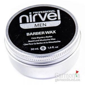 Nirvel Barber wax / Воск для бороды. Объем: 50 мл