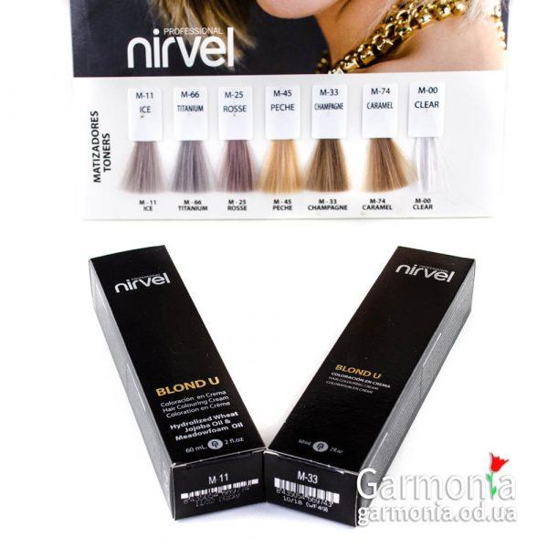 Nirvel Blond U - Суперосветляющий краситель Объем: 60 мл.