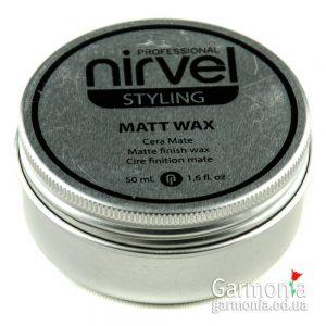 Nirvel Matt wax / Матирующий воск для волос  Объем: 50 мл