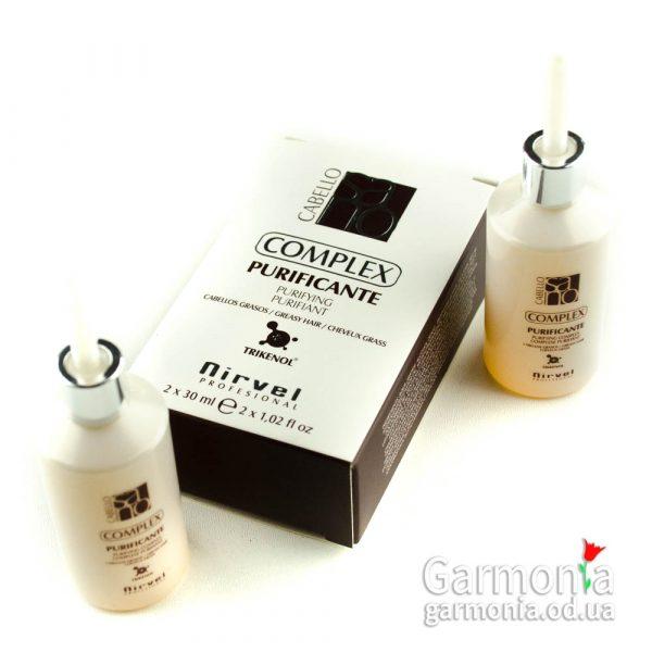 Nirvel Puryfing control complex / Лосьон - комплекс против жирной кожи головы.