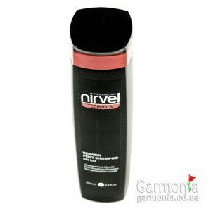 Nirvel Shampoo post №5 - Восстанавливающий кератиновый шампунь. Объем: 250мл