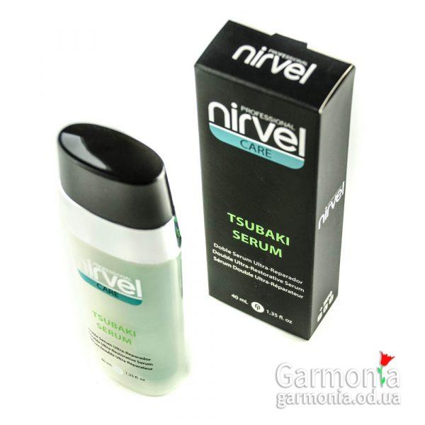Nirvel Tsubaki serum 40ml / Сыворотка для сильно поврежденных волос