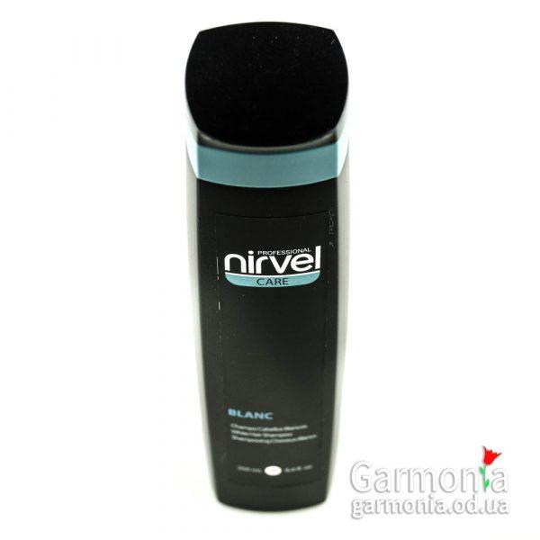 Nirvel White hair shampoo - Шампунь для осветленных и седых волос. Объем: 250 мл.