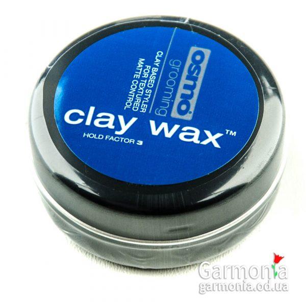 Osmo Clay wax 100 ml / Фиксирующий воск без блеска с матирующим эффектом