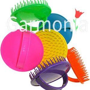 Denman D6 Be-bop brushes. Цветные щетки для душа.
