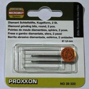 Алмазные боры Proxxon  насадка 28222